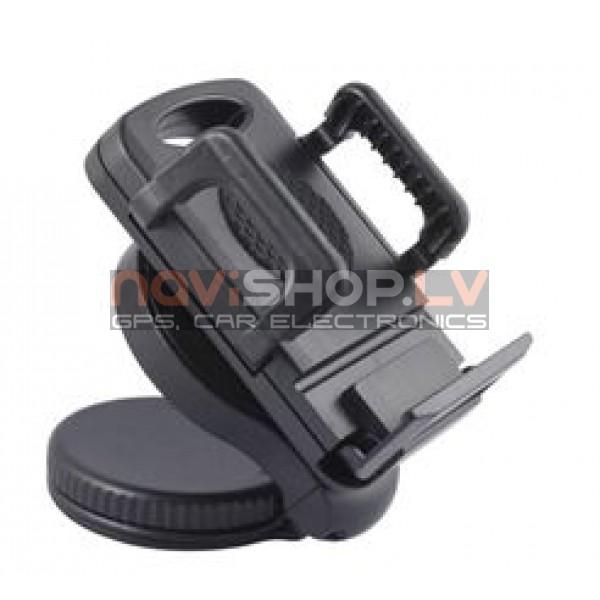 Universāls telefona turētajs 50-94mm  automašīnai 028L+ piesūceknis (Samsung, Nokia, iPhone 4/4s 5/5s,HTC  etc)
