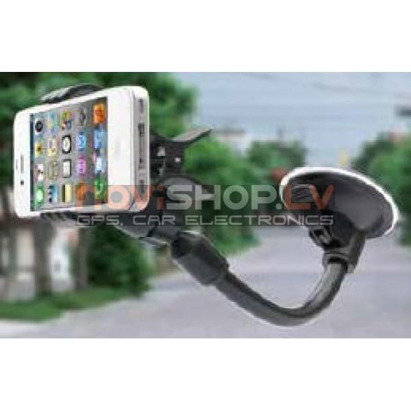 Universāls telefona turētājs-knaģis  0-100mm H-054JZ (visi telefoni, Samsung, Iphone, LG,Nokia,uc)