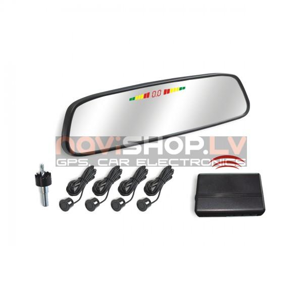 Bezvadu parkošanās sistēma Parkmaster CRS5801L ar spoguli