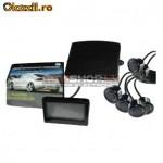Parkošanās sistēma Parkmaster CRS7500-4 sensori un LCD ekrāns