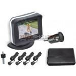 Video Parkošanās sistēma Parkmaster CRS9241 un LCD ekrāns