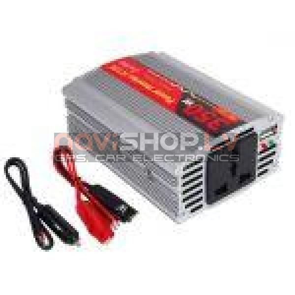 Strāvas pārveidotājs  DY-8105 350W,  DC12V-AC110/220V+USB