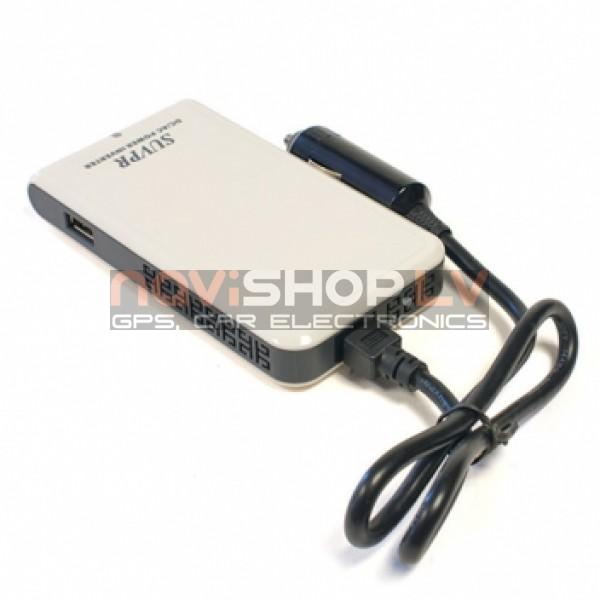 Strāvas pārveidotājs DY-100N, 100W DC12V-AC110/220V+USB