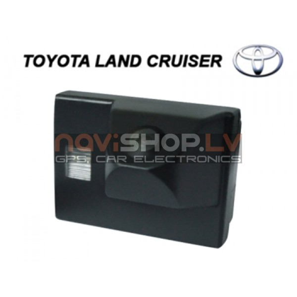 Toyota Landcruiser camera wired