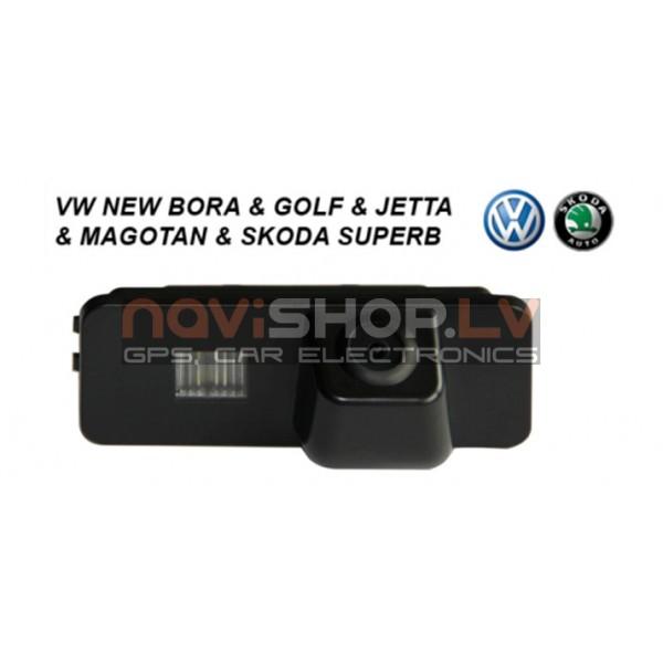 VW Bora, Golf, Jetta,Skoda Superb  atpakaļskata kamera