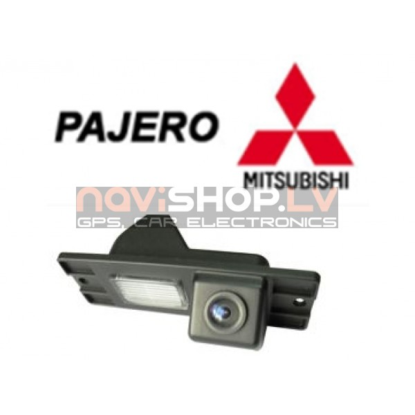 Mitsubishi Pajero camera wired