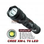 Truefire WF-502B LED lukturis (CREE XM-L T6 LED, max 1000 lumens)
