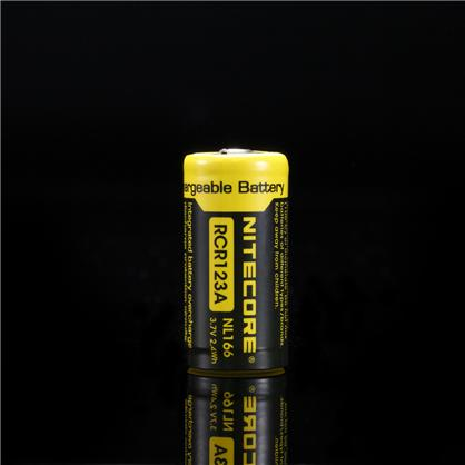 Nitecore NL166 RCR123A Li-ion lādējams akumulators