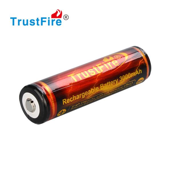 Trustfire 18650 lādējams akumulators ar PCB